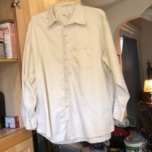 Perry Ellis white shirt